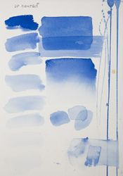 Cobalt blue, aquarell colour in 17 ml tube