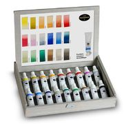 Ottosson aquarell colours, 18 pcs 17 ml tube