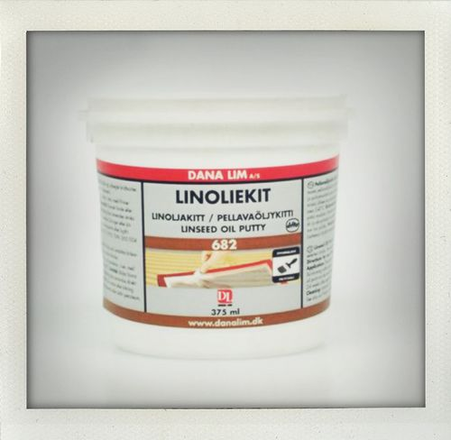 Linseed Oil Putty 375 ml, Danalim 682
