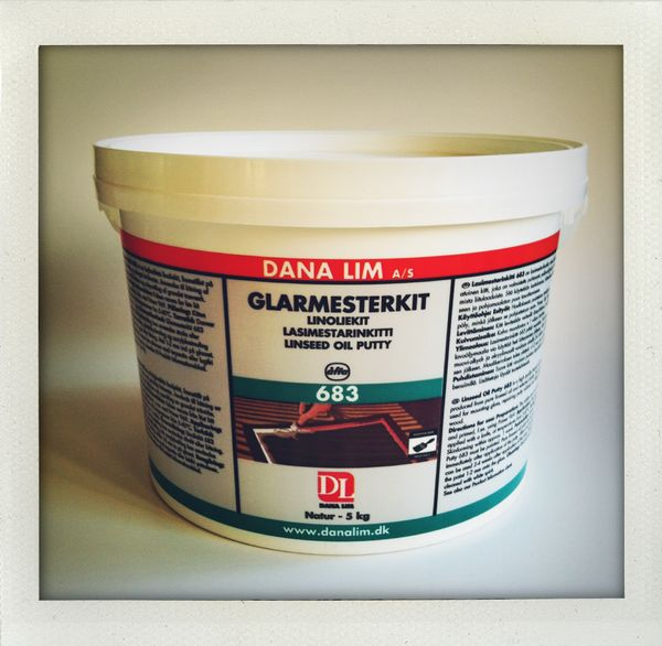 Linseed Oil Putty, Danalim 683