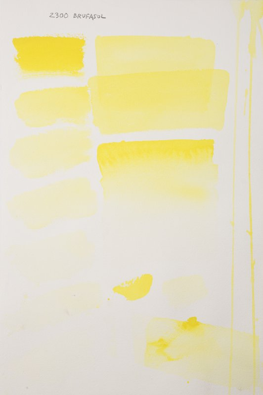 Brufasol yellow, aquarell colour in 17 ml tube